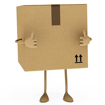 embalagens personalizas de papelão ondulado