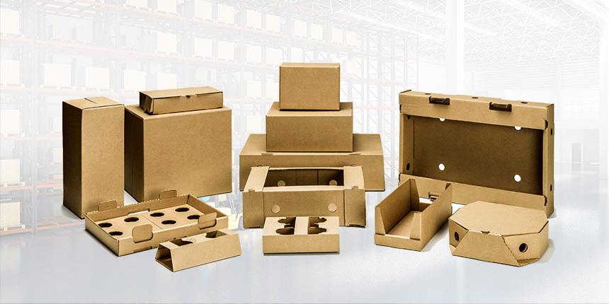 caixas de papelão personalizadas