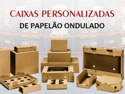 Fábrica de embalagens de papelão ondulado na cidade de São Paulo
