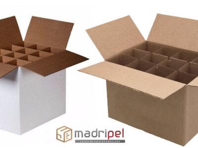 Caixas de papelão especiais com colmeia acoplada kraft, semi-kraft, reciclado e branca