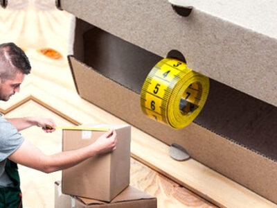 Aprenda a medir as dimensões de uma caixa de papelão