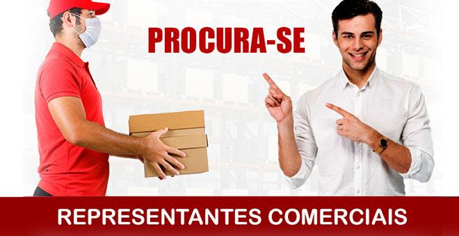 Procura-se representantes comerciais em São Paulo